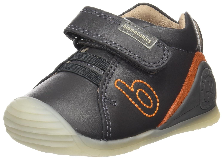 Biomecanics 171146, Zapatillas para Bebés Gris (Antracita/Sauvage) 18 EU 171146-B
