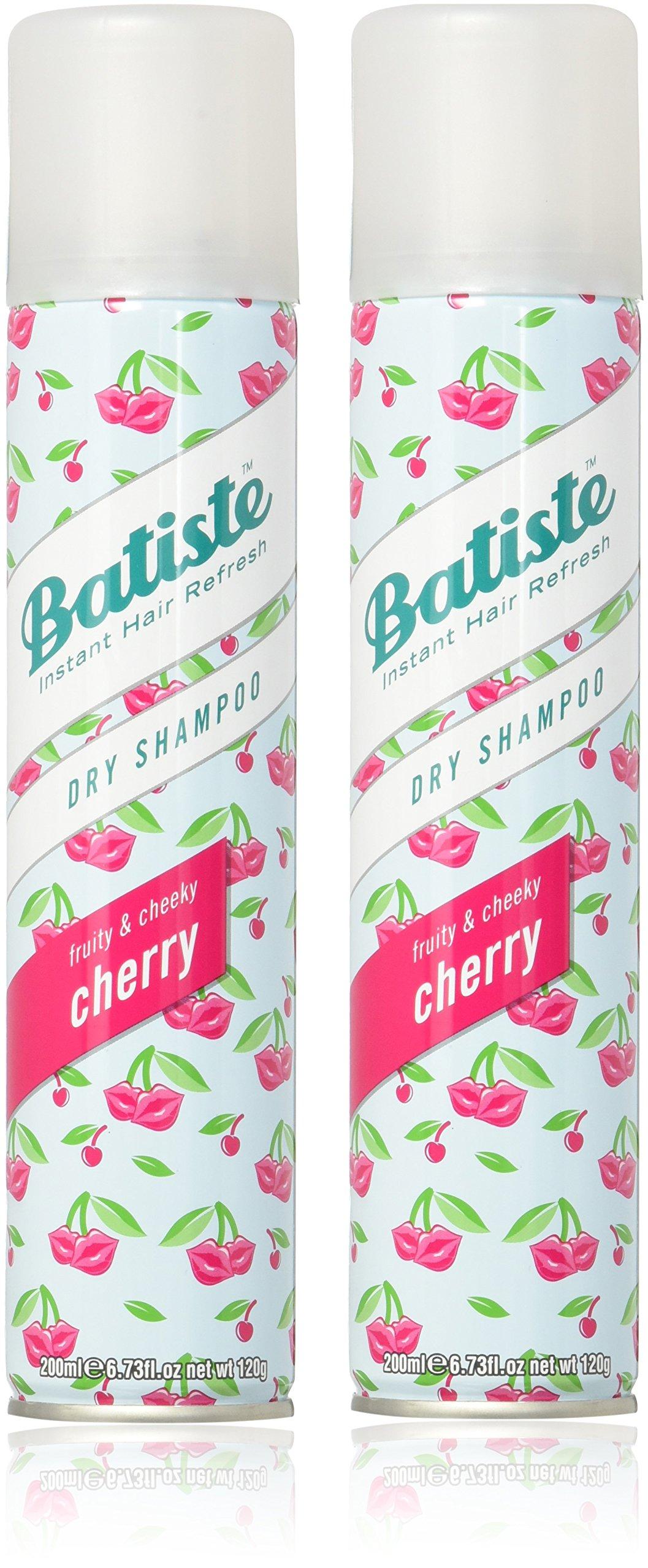 Batiste Dry Shampoo, Cherry, 6.73 Ounce (2 Pack)