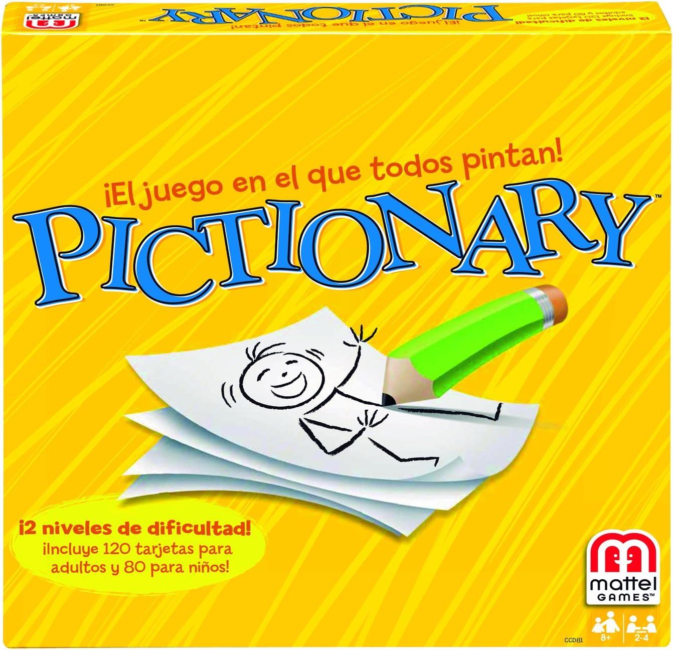 Juegos Mattel - Pictionary, Juego de Mesa (CCD81): Amazon.es: Juguetes y juegos