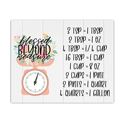 Amazon Cooking Conversion Chart Shiplap Coral Scale Baking