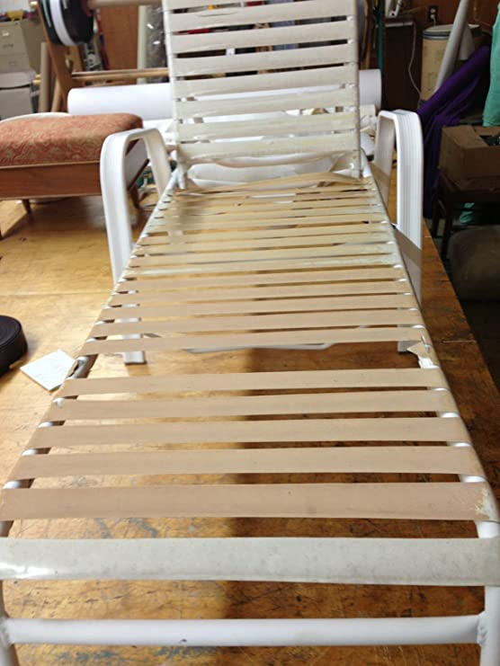 Swell 2 Vinyl Chair Strap Strapping Outdoor Patio Lawn Furniture Repair 20 Brown New Theyellowbook Wood Chair Design Ideas Theyellowbookinfo