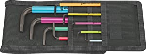Wera 05022639001 L-key-Set for 950 SPKL/9 SZ imperial,MULTI