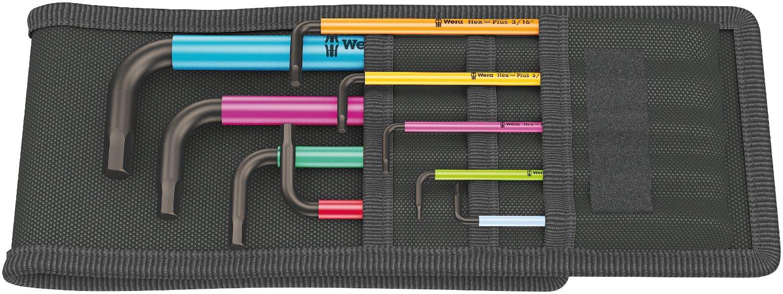 Wera 05022639001 L-key-Set for 950 SPKL/9 SZ imperial by Wera