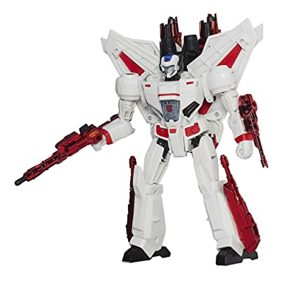 Transformers Generations Leader Class Jetfire Figure(Discontinued by manufacturer): Toys & Games