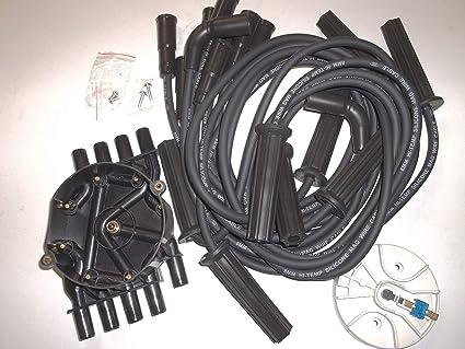 amazon.com: distributor cap, rotor, spark plug wires tune up kit ...  amazon.com