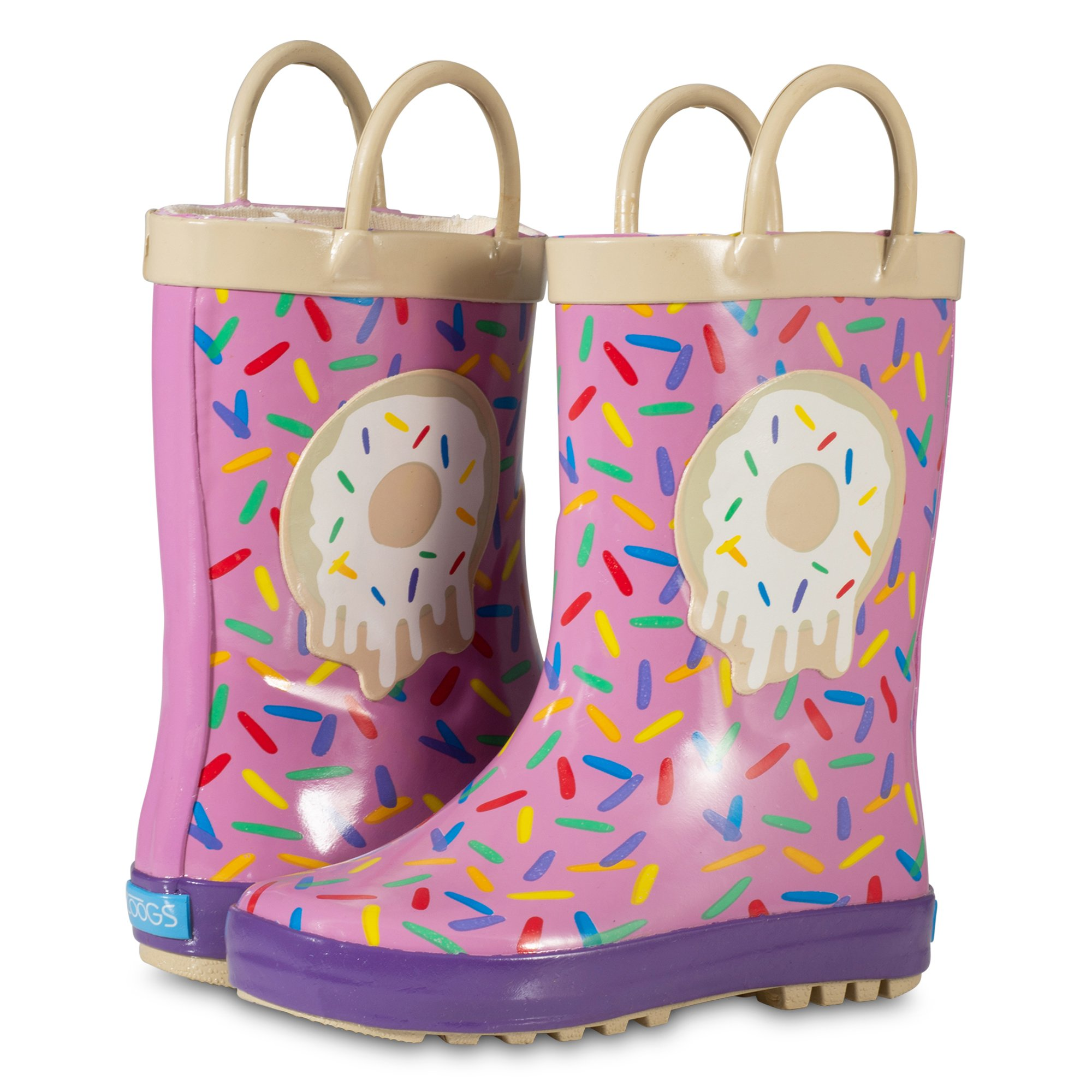 ZOOGS Children's Rubber Rain Boots, Little Kids & Toddler, Boys & Girls Patterns by ZOOGS (Image #6)