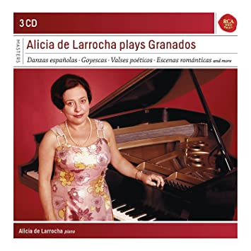 Alicia De Larrocha, Enrique Granados, __ - Alicia De Larrocha Plays Granados - Amazon.com Music