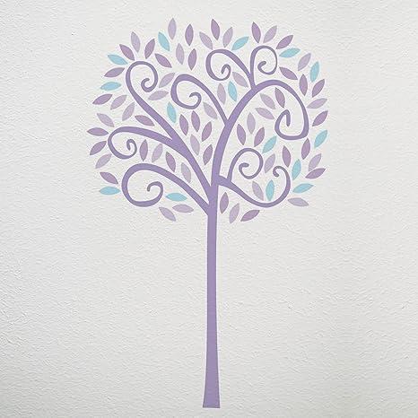 CoCaLo Violet Jumbo Tree Wall Decal Set Lavender  sc 1 st  Amazon.com & Amazon.com: CoCaLo Violet Jumbo Tree Wall Decal Set Lavender: Baby