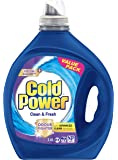 Cold Power Advanced Clean, Clean and Fresh Liquid Laundry Detergent, 3.6 Litres, 72 Washloads