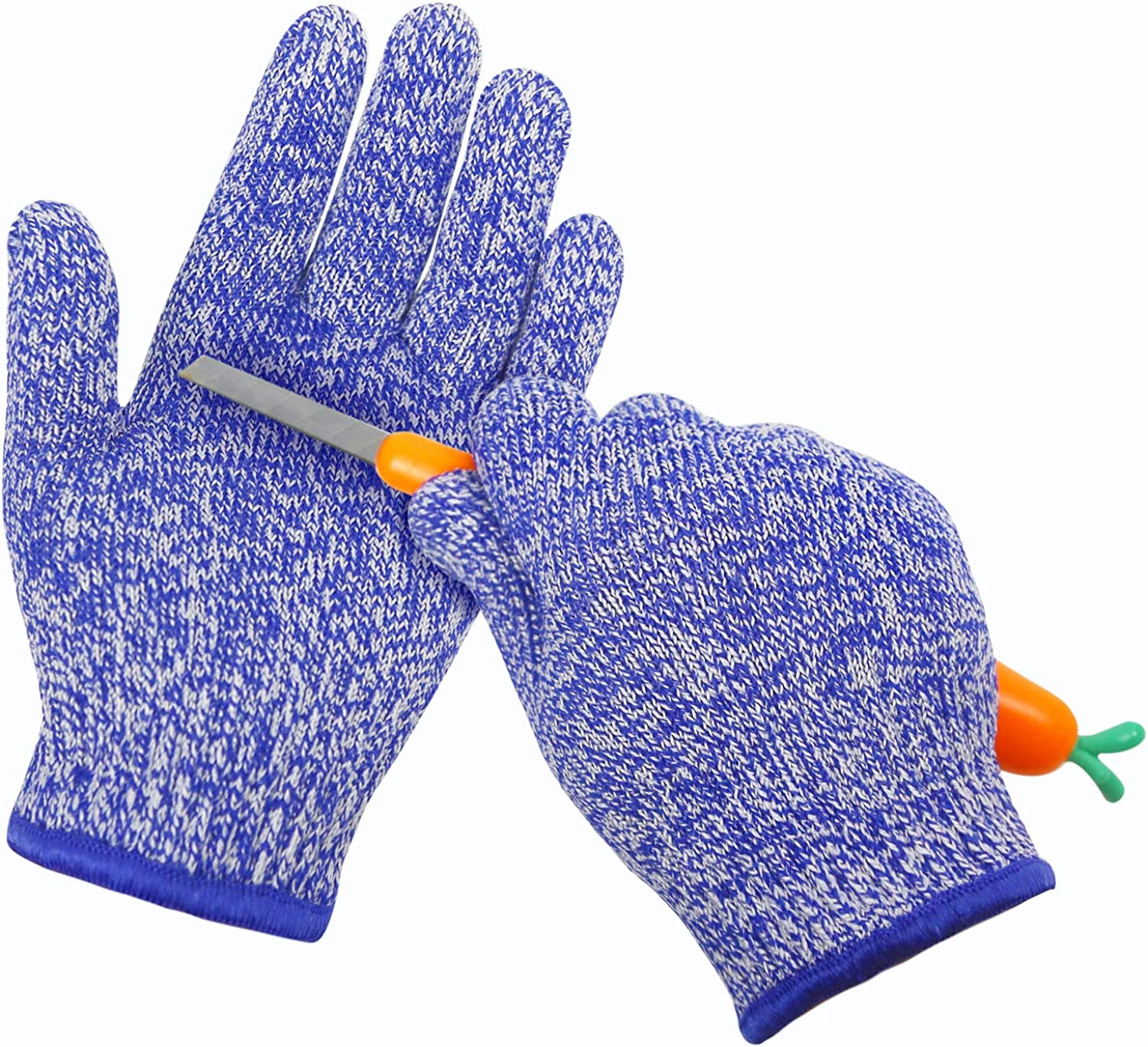 MIG4U Cut Resistant Gloves for Kids Food Grade Small Hands Protection Safety Glove