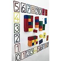 Mıknatıslı Küp Magnet Rakamlar Matematik Seti