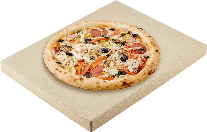 Levivo Piedra para pizza/piedra de horno de cordierita resistente ...