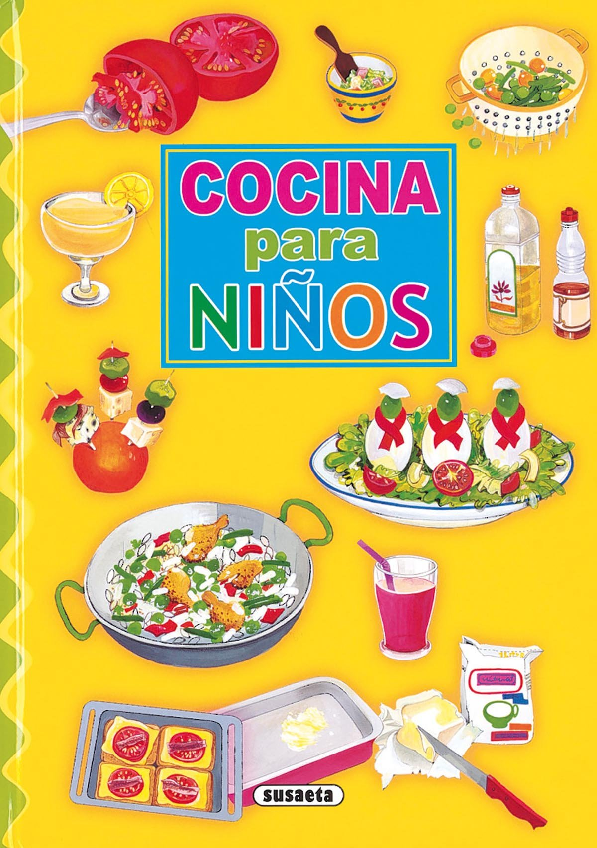 Marvelous Cocina Para Ninos (Adivinanzas, Chistes.) (Spanish Edition) (Spanish)  Hardcover U2013 January 1, 2009