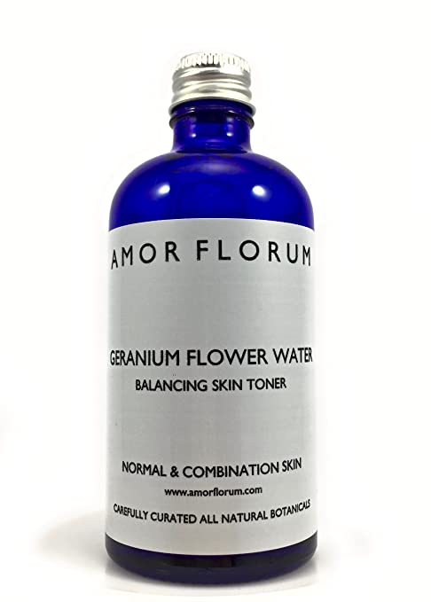 AQUA DE GERANIO - 100 ml - de AMOR FLORUM - Agua de Pelargonium graveolens de la más Alta Calidad. Con la Fragancia natural de Geranio es un Limpiador y ...
