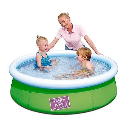 Amazon.com: Splash & Play 5 'My First Fast Set Pool ...