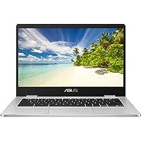 ASUS Chromebook C423NA-BV0017 14.0 Inch HD Notebook - (Grey) (Intel Celeron N3350 Processor, 4 GB RAM, 32 GB eMMC, Chrome OS)