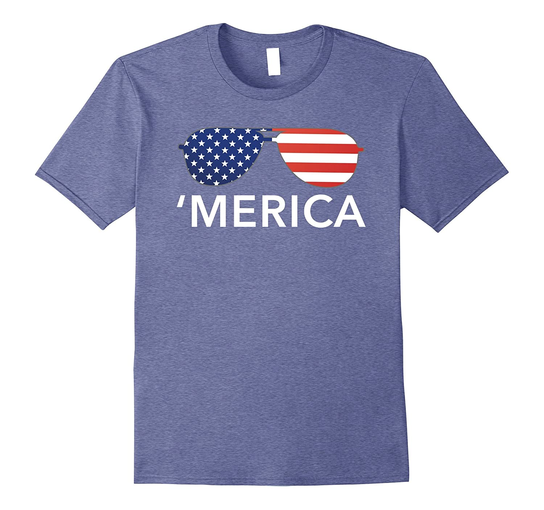 'Merica patriotic Memorial Day USA summer tee shirt-TH