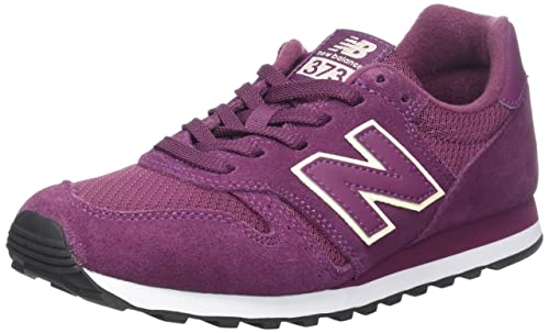 New Balance Womens WL373PUR, Burgundy, ...