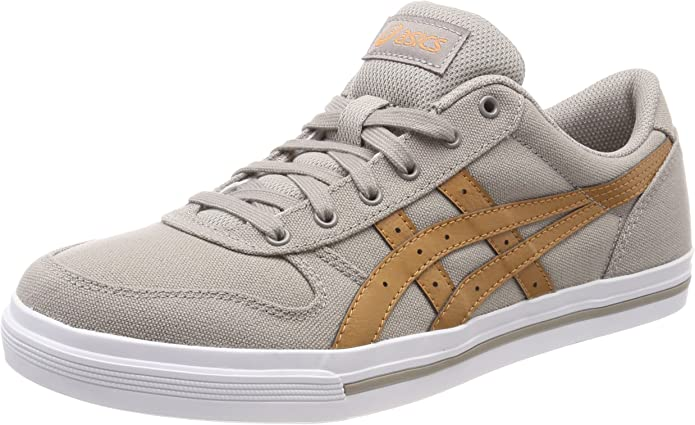 ASICS Aaron Sneaker Herren Beige mit braunen Streifen