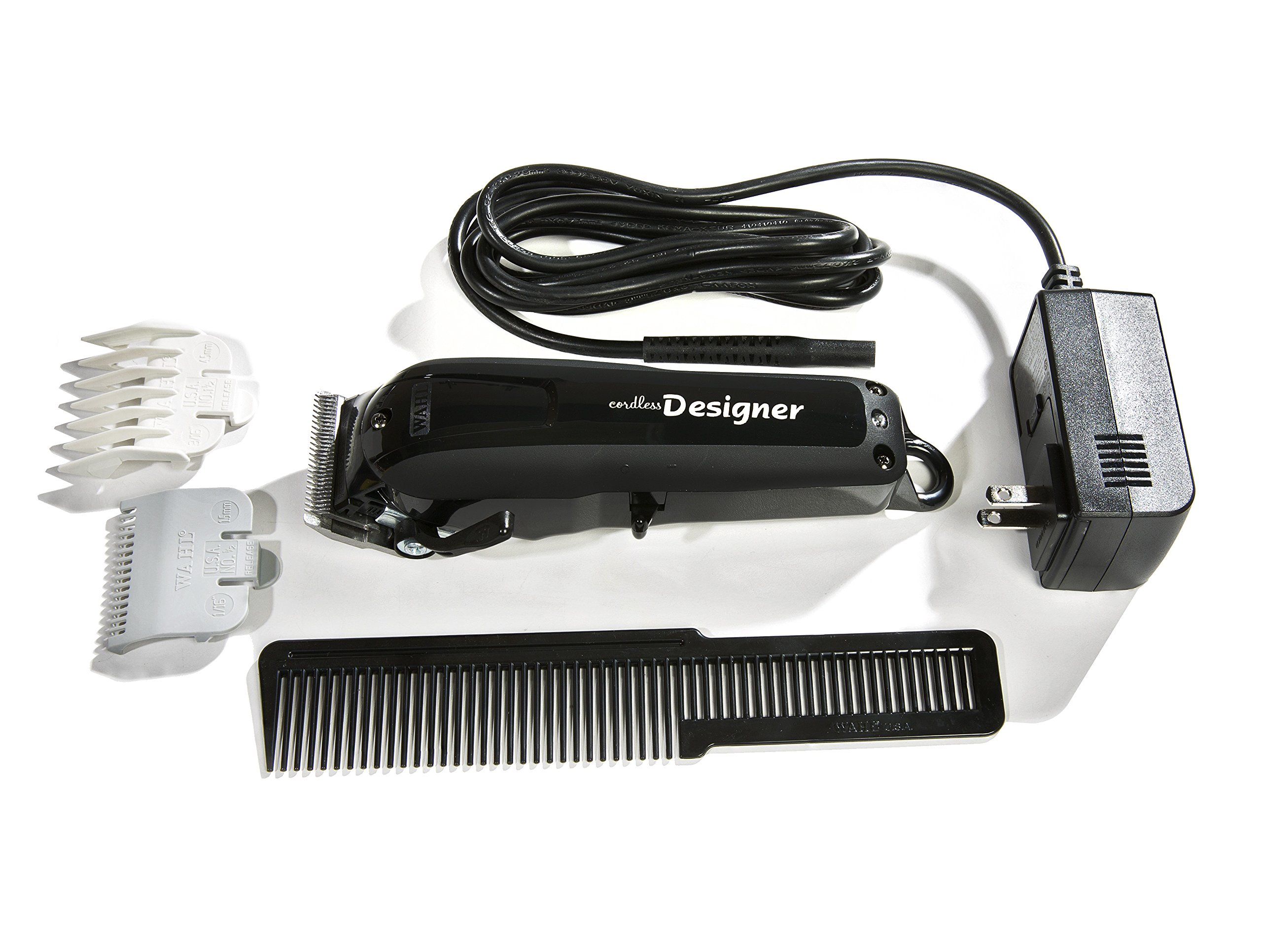 Wahl Professional Cordless Designer Clipper #8591 – 90 Minute Run Time – Accessories Included by Wahl Professional (Image #3)