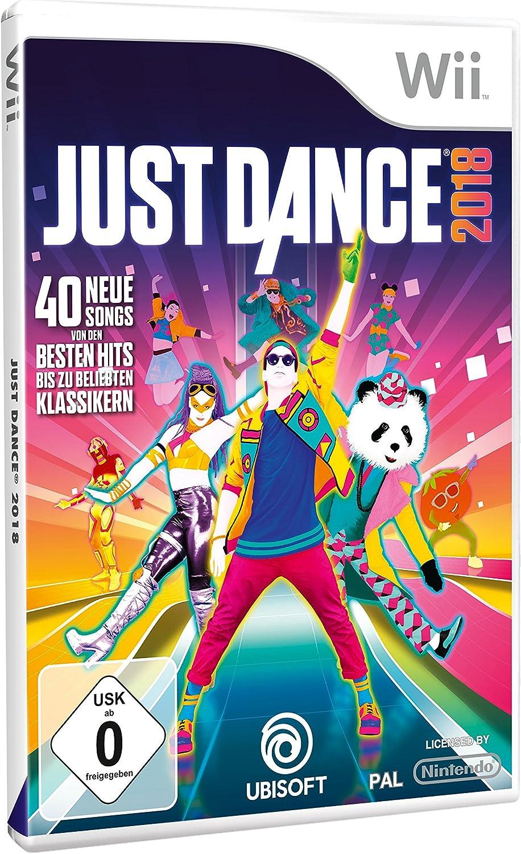 Just Dance 2018 - [Nintendo Wii] [Importación alemana]: Amazon.es ...