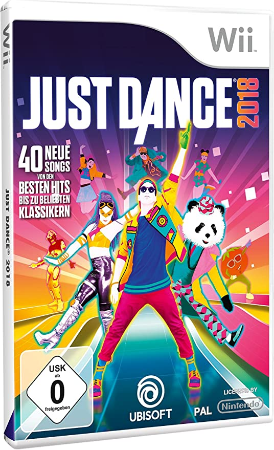 Just Dance 2018 - [Nintendo Wii] [Importación alemana]: Amazon.es ...