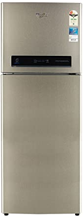Whirlpool 340 L 2 Star Frost Free Double Door Refrigerator(PRO 355 ELT REAL STEEL(2S), Real Steel)