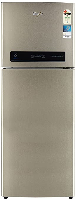Whirlpool 340 L 2 Star Frost Free Double Door Refrigerator(PRO 355 ELT REAL STEEL(2S), Real Steel) Refrigerators at amazon