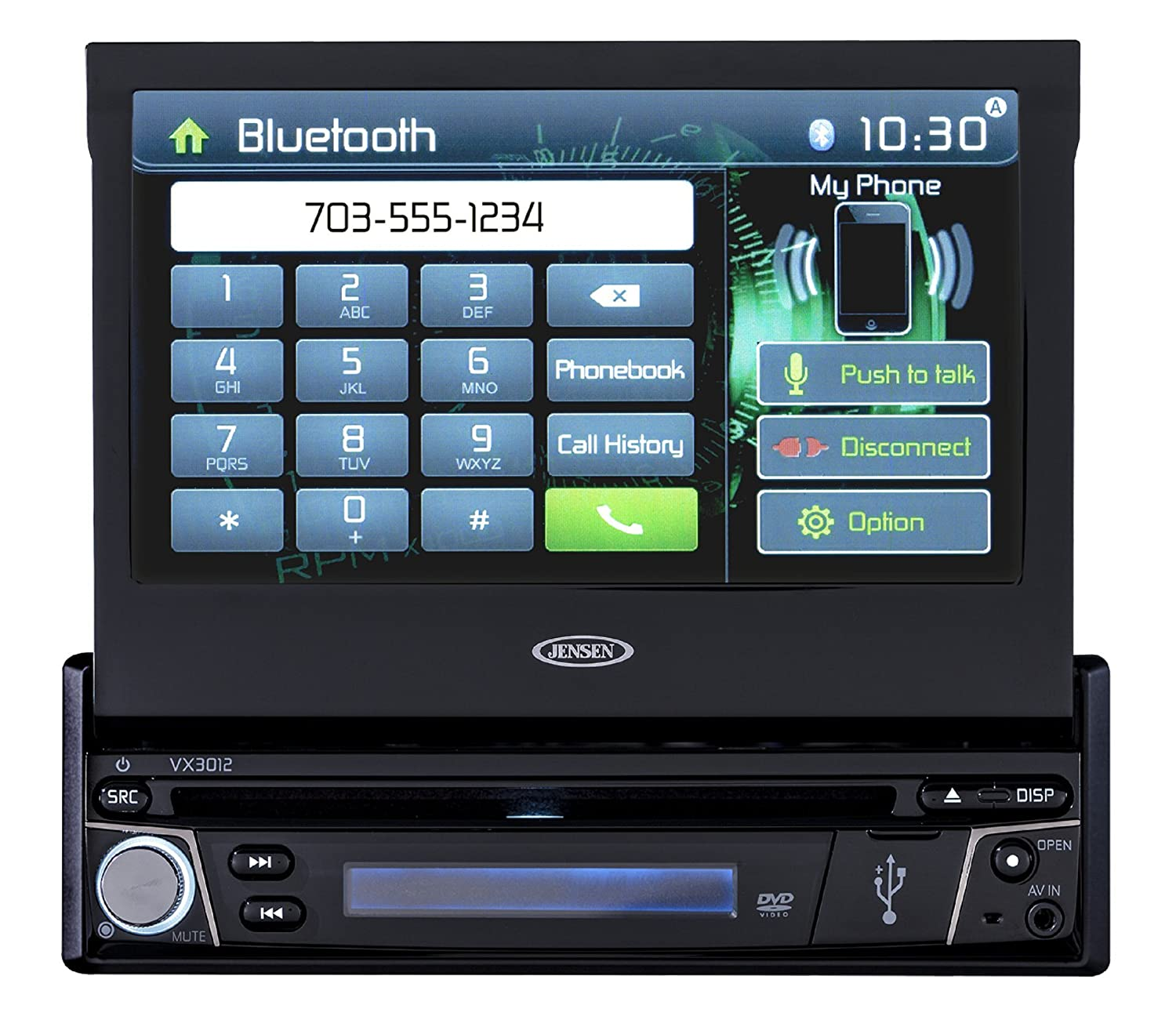 81WAJ1nVnJL._SL1500_ amazon com jensen vx3012 7 inch multimedia retractable touch  at panicattacktreatment.co