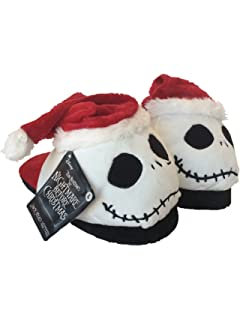 nightmare before christmas jack head slippers youth size large 9 inches toe