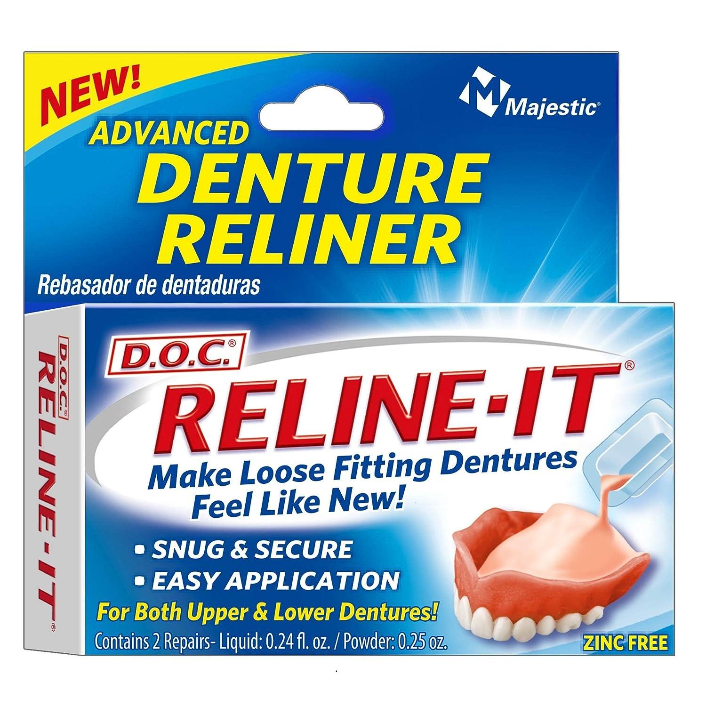 Majestic Drug Denture Reline Kit