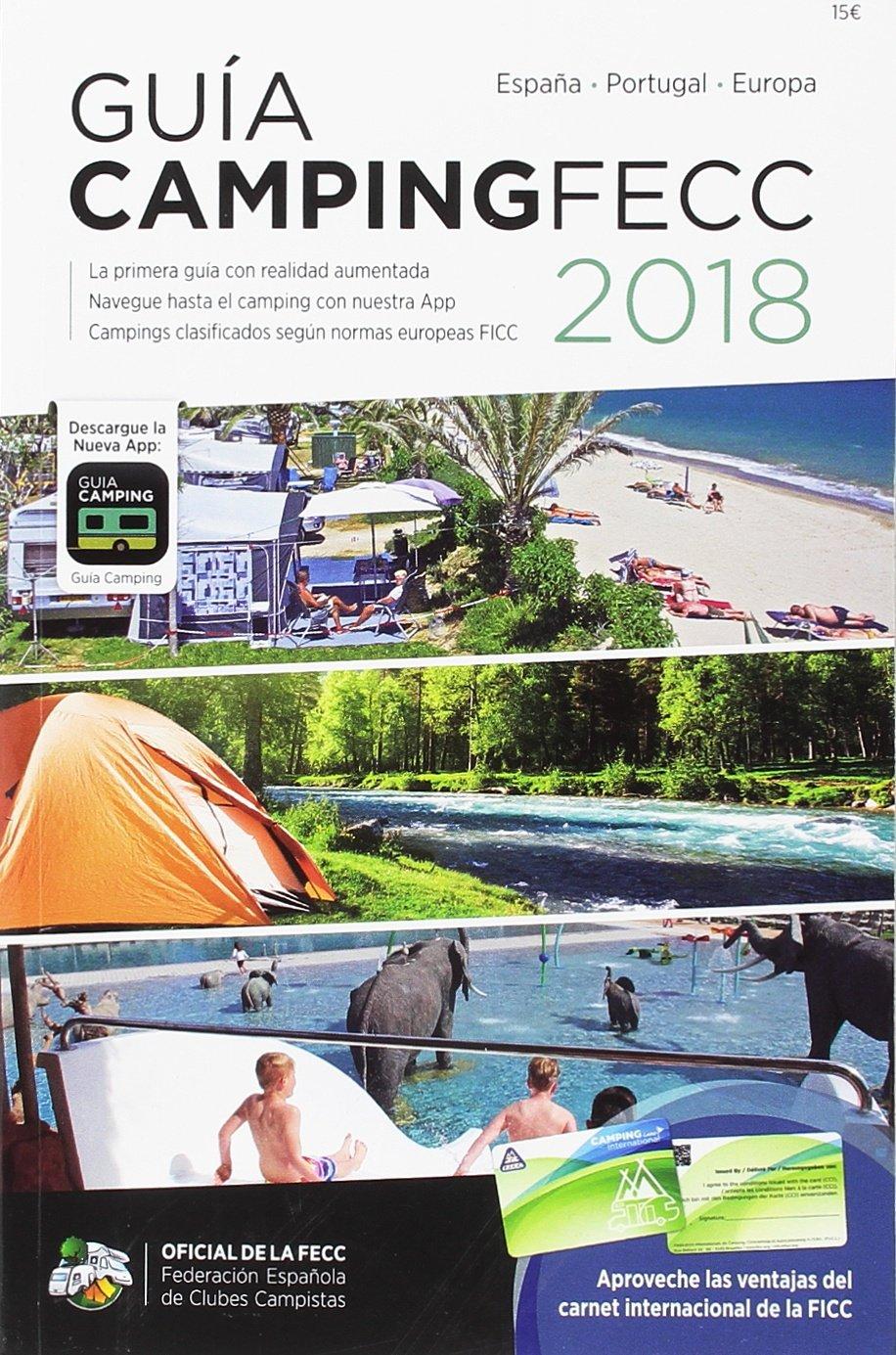 Guía de camping oficial de la FECC 2018: Amazon.es: Vv.Aa, Vv.Aa ...