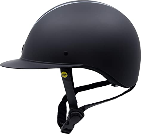 Windsor Helmet M Black Chrome Wide Brim Tipperary Equestrian