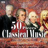 3CD 50 Pieces Classical Music, Musica Classica, Beethoven, Vivaldi, Mozart, Nocturnes, Piano Sonata, Symphony, Il Barbiere Di Siviglia, Four Season