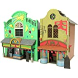 さんけい みにちゅあーとキット スタジオジブリシリーズ 千と千尋の神隠し 不思議の町-1 1/150スケール ペーパークラフト MK07-04