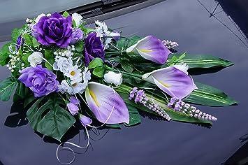 Brautauto Hochzeitauto Auto Deko Hochzeit Dekorationen Autoschmuck