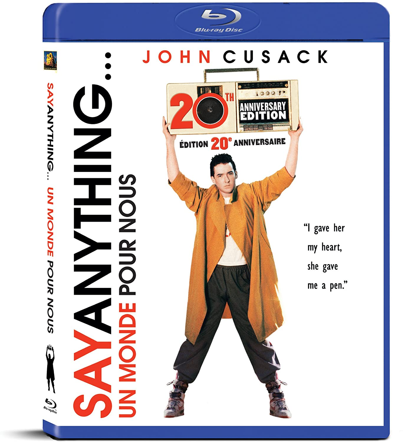 Say Anything... (20th Anniversary Edition) (Blu-ray)