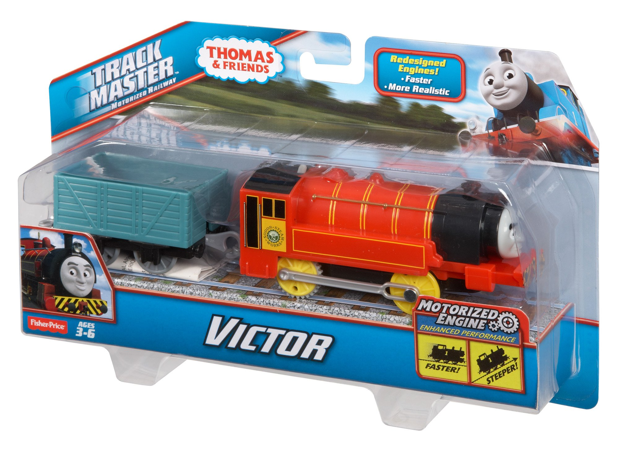 Thomas & Friends Fisher-Price TrackMaster, Motorized Victor Engine