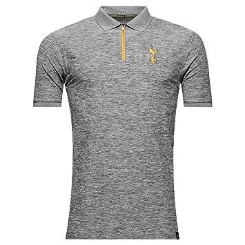 2016-2017 Tottenham UA Player Polo Shirt (Graphite): Amazon.es ...