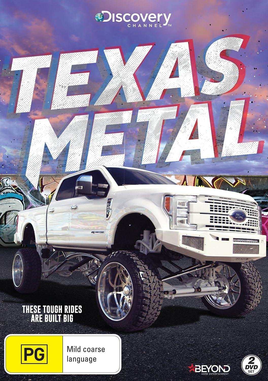 Amazon Com Texas Metal Muscle Cars Monster Trucks Non Usa Format Pal Region 4 Import Australia Bill Carlton Movies Tv