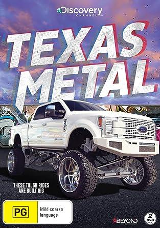 Texas Metal Discovery Channel Bill Carlton Amazoncomau Movies - Texas metal car show