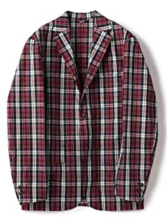 Barry Bricken Plaid Cotton Sportcoat 117-07-0037