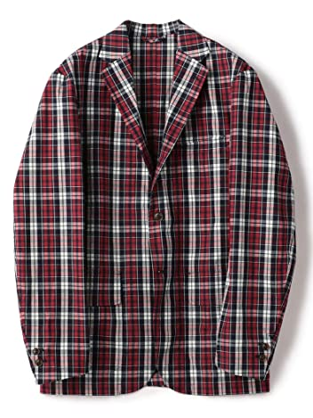 Barry Bricken Plaid Cotton Sportcoat 117-07-0037