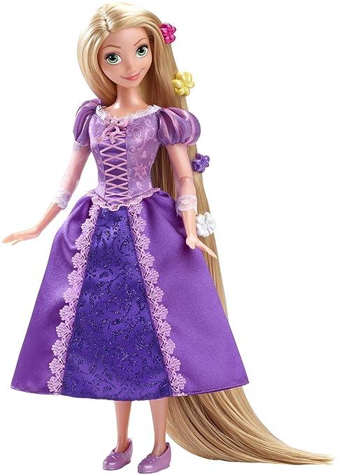 Disney Princesas Princesa clásica Rapunzel (Mattel CDN83): Amazon.es: Juguetes y juegos