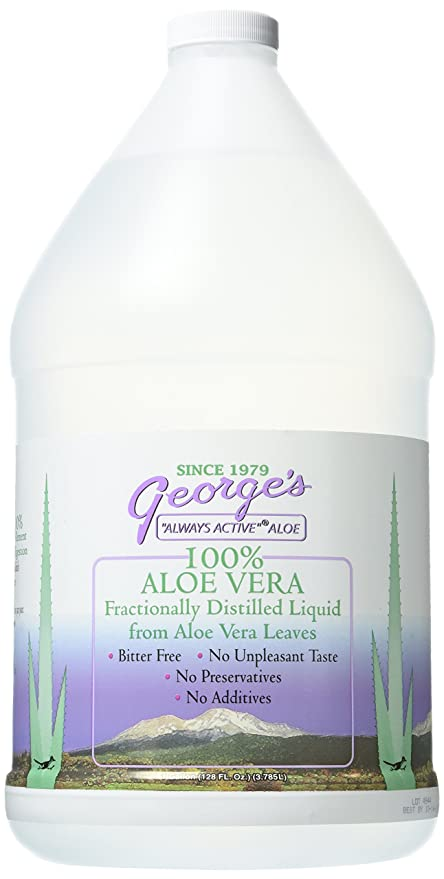 George's Aloe Vera Supplement - best herbal supplements for depression and anxiety