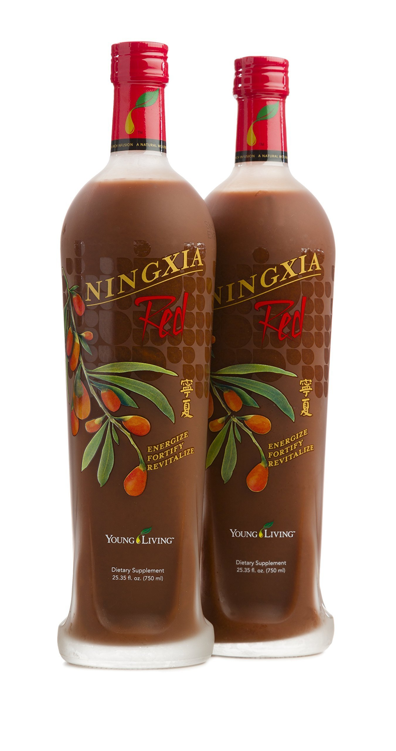 Young Living NingXia Red - New Formula - 2 Bottles