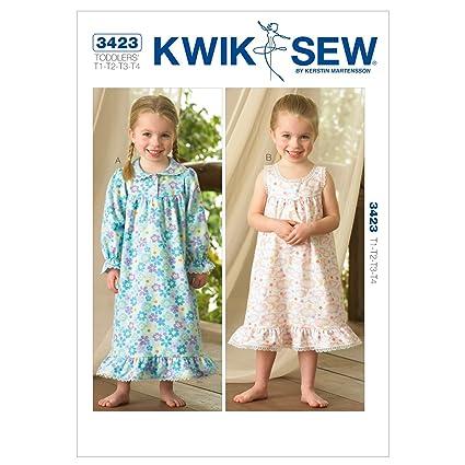Amazon Kwik Sew Patterns Kwik Sew K3423 Nightgowns Sewing