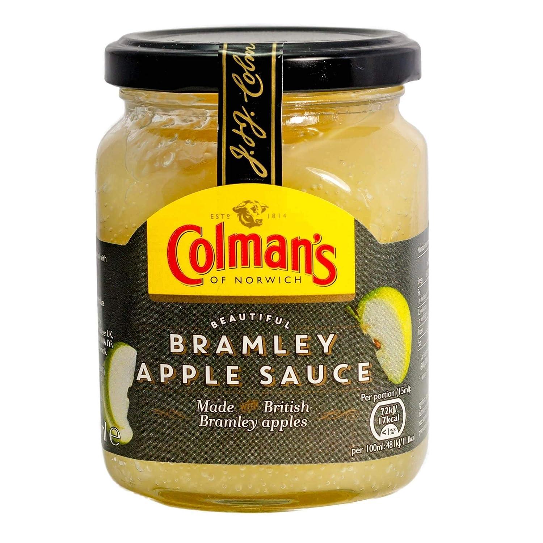Original Colmans Bramley Apple Sauce Imported From The UK England Original Bramley Apple Sauce The Very Best Of British Apple Sauce