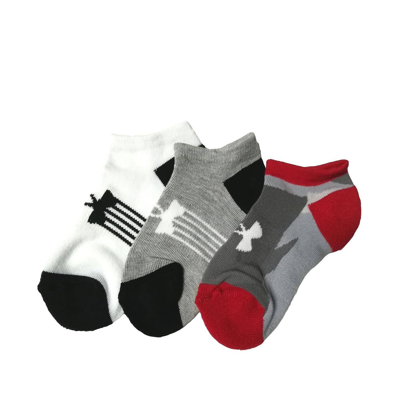 Under Armour Girls Ua Girls Next Statement 3.0 Crew Socks 3 Pack