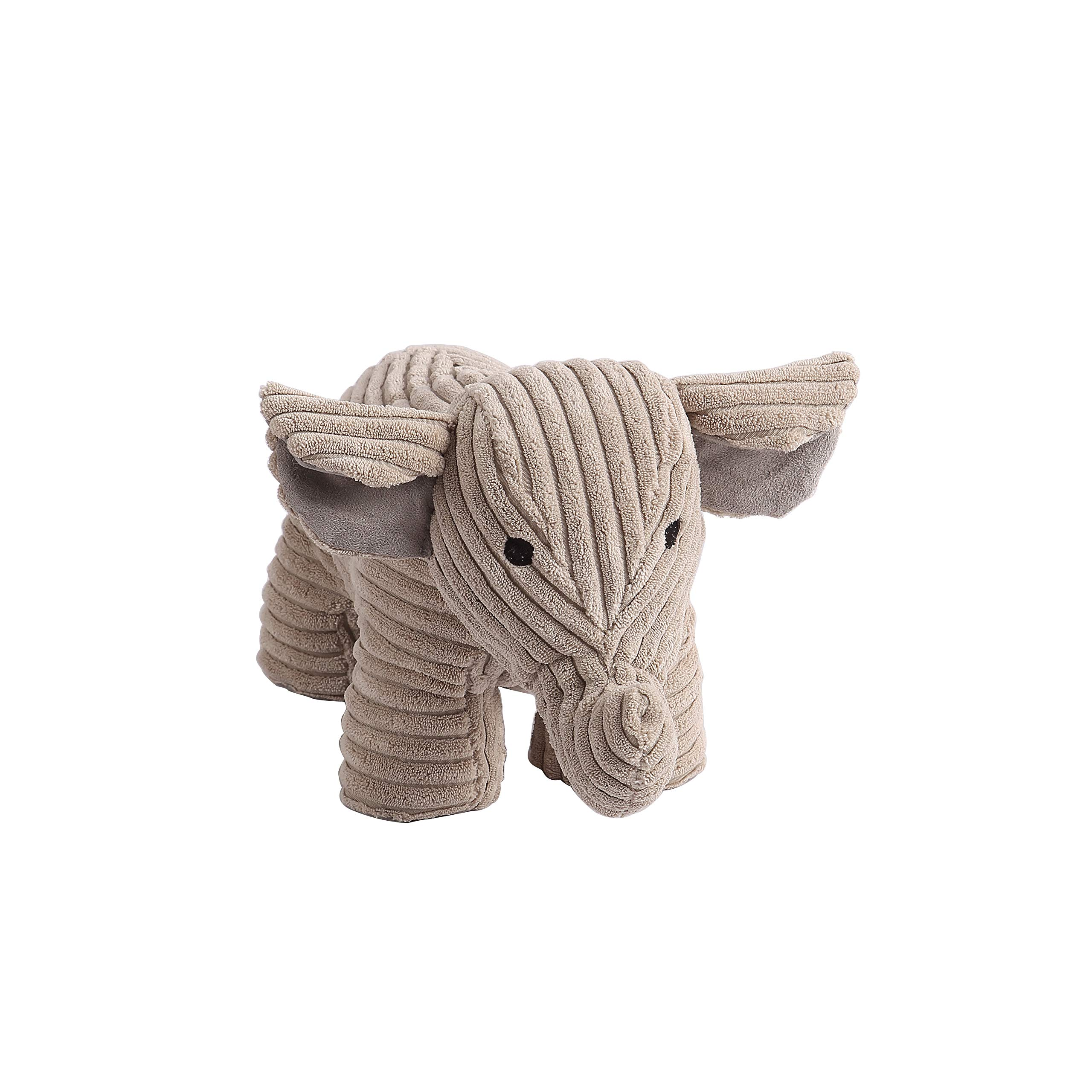 Decorative Door Stopper by Morgan Home – Available in Many Animals and Styles – Measures Approx. 11 x 5.5 x 5.5 Inches (Grey Elephant) by Morgan Home (Image #1)